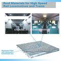 De haute qualité ultra- train léger étage en mousse d'aluminium panneau composite