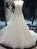Crystal Luxury White Beaded white velvet wedding dresses