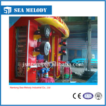 High quality rollover foam hydraulic lift for car wash sysytem