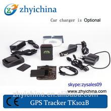 mini child gps tracking devicek102 used for Covert criminal Tracking tkl102b