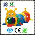 Melhor qualidade de jogo plástico crianças túnel túnel do jogo crianças brincar ao ar livre túnel QX-160E