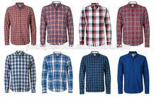 2014 Casual Fashion Plaid Men Shirts In Men Shirts