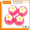 Clear High Flower Shape Super Bouncing Ball