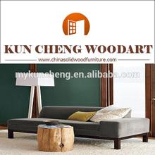 2014 modern home furniture wooden sofa/Solid wood sofa set designs KC-SF0016