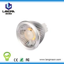 Dimmable indoor 90-265V 5W 38degree led spot light garden