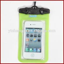 Green any phone smartphone waterproof case