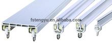 alta qualidade de cortina de alumínio ferroviário da china
