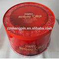 Personalizado bastante encantadora cajas pasteles/tartas/cajas de papel de impresión
