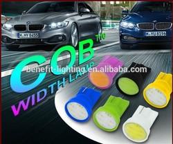 t10 COB, COB t10 auto led light ,w5w cob auto led lighting