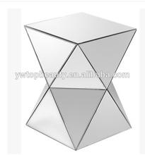 Mirror furniture tea table