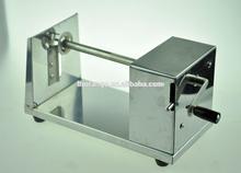 Stainless steel electric potato cutter/potato chips machine/rotary potato tower crane