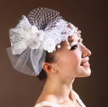Yiwu rinhoo elegant wedding stage party fascinator