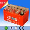 ytx7a-bs mf motorcycle batteries,12v 7ah motorcycle gel battery