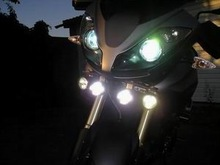30w 3000lm 4*u2 cree waterproof led motorcycle lamp moto light