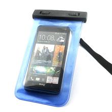 Universal Cell Phone Waterproof Bag Underwater Dry Bag Case For HTC One 2 M8 HTC One M7 HTC One mini M4