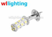 H118 LED 5050 SMD Car Day Fog Head Light Lamp Bulb Xenon White 6300K