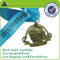 custom antique bronze finalizador medalha de honra do jogo