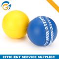 Colores personalizada espuma cricket bolas con forma redonda para publicidad de calidad superior