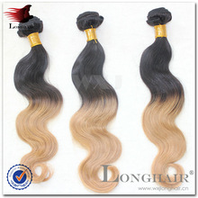 Factori One Donor Top 100% Virgin Hair cold fusion ombre hair extensions