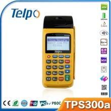 China TPS300 all in one terminal Dual sim pos restaurant equipment