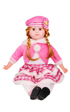 "2014 Top Quality 22"" musical doll toy with high quality"