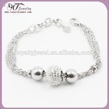 Hot sale Fashion shamballa crystal ball bracelet