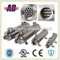aprobado por la ce de acero inoxidable motor diesel refrigerador de aceite por parte de china del enfriador de aceite de los fabricantes
