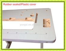 máquina de costura usada mesas de tampo da mesa da máquina de costura