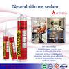 multi purpose transparent neutral silicone sealant