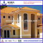 exporting new design luxury prefab steel villa