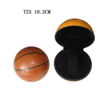 special basketball-shaped plastic watch box T23