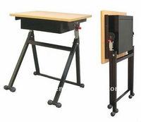 school furniture used folding wooden student desk