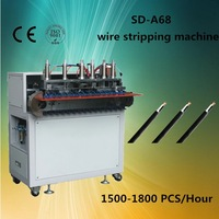 SD-A68 Automatic cutting wire cotton yarn machine / cable making equipment