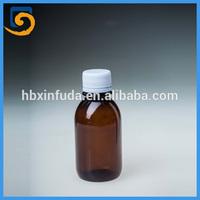 A200-150ml pharmaceutical Amber PET liquids medicine bottles( New Design)