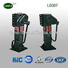 Reliable Performance ISO/TS Standard Trailer Parts Heavy Duty Truck Landing Gear