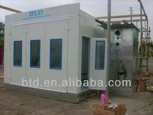 Auto equipo de pintura / coche aerosol del horno hornear booth / secado de pintura sala