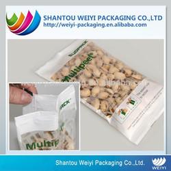 Fashionable custom printed printing packaging drid fruit plastic bag