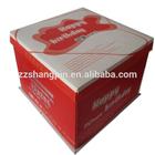 Cheap wholesale kraft paper birthday cake box packaging