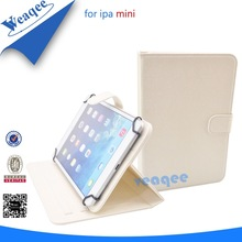 factory directly wallet leather pouch for ipad mini