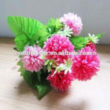 Best Popular Pink Ball Bush Artificial Flower