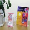 cardboard brochure holders/table top brochure holder
