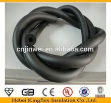Nitrile soft black rubber foam insulation sleeve pipe