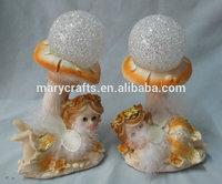 new fashion resin collection wholesale fairy figurines glen handmade resin fairy sitting