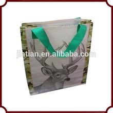 eco-friendly bopp film pp woven bag