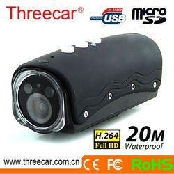 Free Outdoor 20m waterproof 5M CMOS sensor action shot camera