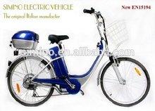 simino electric bicycle 2012