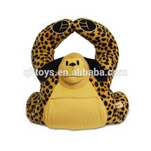 Custom soft huggable cute BoosterPalz plush animal cushion factory