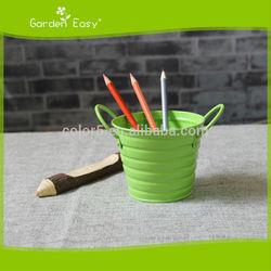Garden and home decoration mini metal flower pot