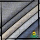 Different color with blue stripe plaid tr material men's designer suit fabric M-66026 men's designer suit fabric
