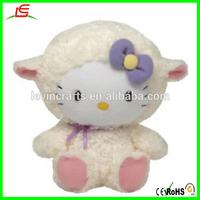 Shy Lovely Hello Kitty Stuffed Plush Doll